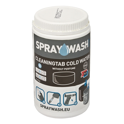 370226: SprayWash CleaningTab Cold Water - pot 14 stuks