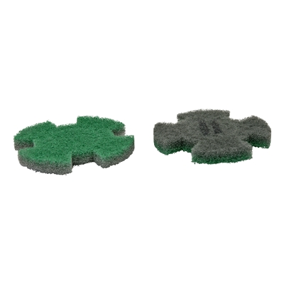 444328: I-MOP XL set 2 Twister pads GROEN