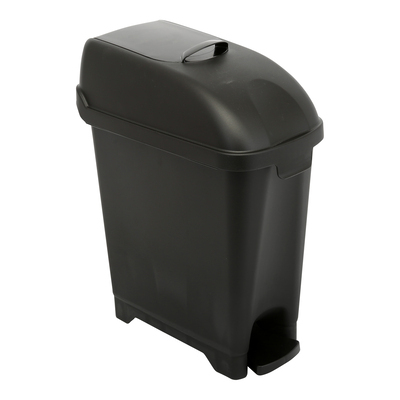 776917: Admire damesverbandcontainer - 10 l - wandmodel - ZWART